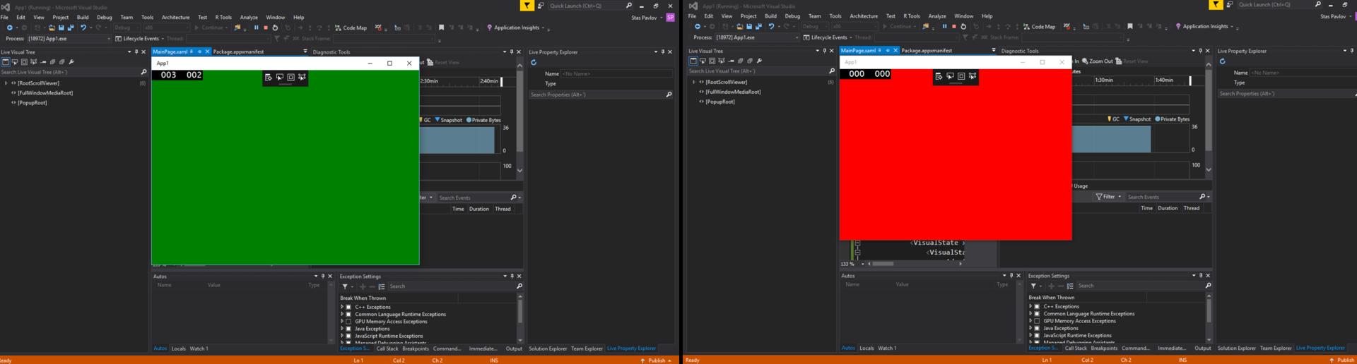 UWP beginner: Адаптивный дизайн (VB.NET + C#) - 2