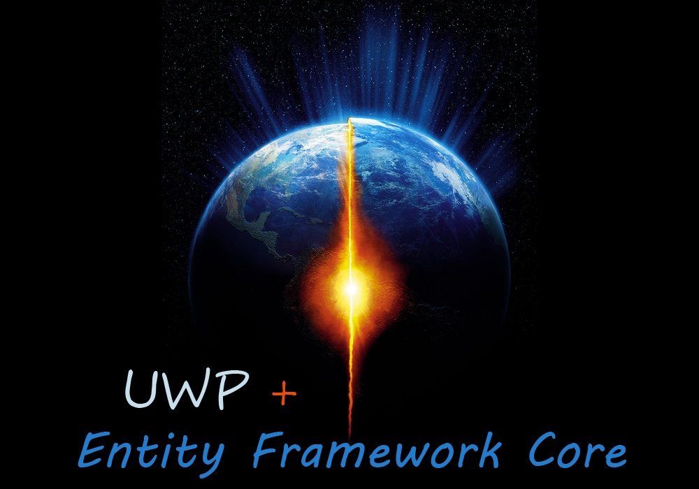 Используем Entity Framework Core с приложением универсальной платформы Windows - 1