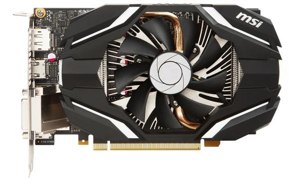 MSI представила новые видеокарты GeForce GTX 1060