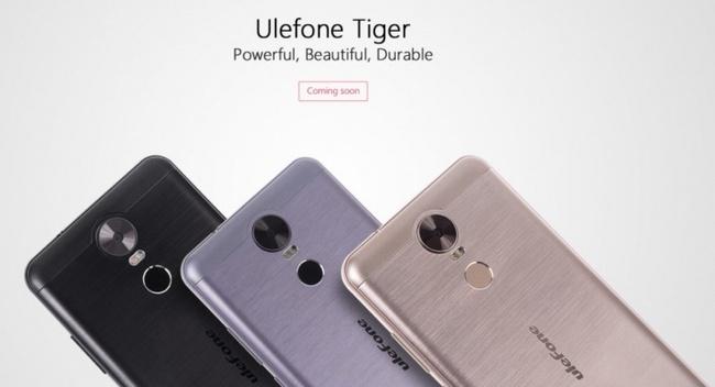 Емкость аккумулятора смартфона Ulefone Tiger превысит 4000 мА•ч