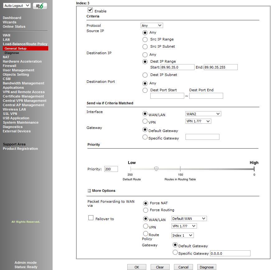 Обзор маршрутизатора Draytek серии 2925. Часть вторая - 30