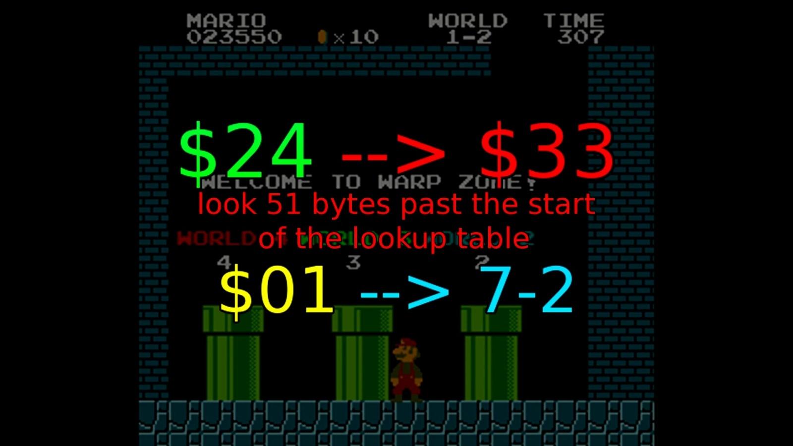 Как работает баг с миром −1 в Super Mario Bros - 10