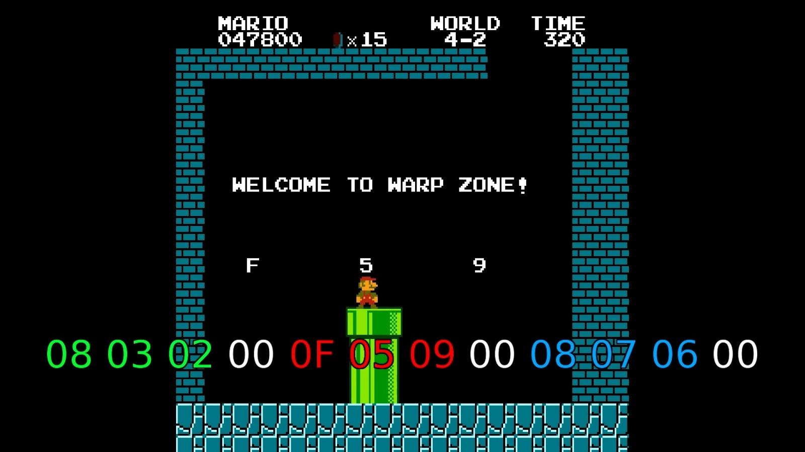 Как работает баг с миром −1 в Super Mario Bros - 6