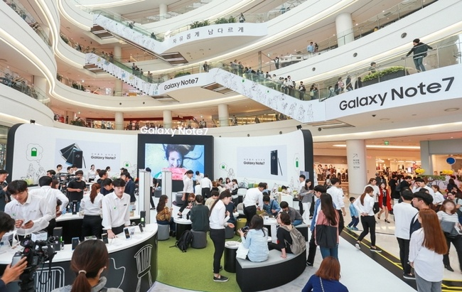 Samsung возобновила продажи смартфона Galaxy Note7 - 1