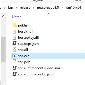 Self-contained дистрибуция .NET Core приложений - 4