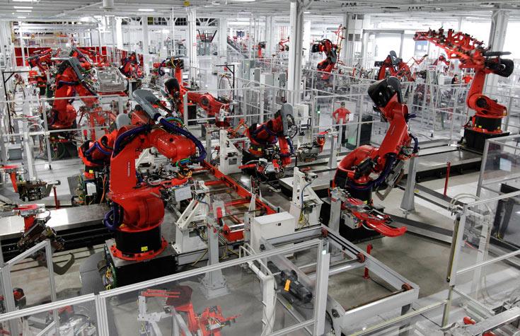Foxconn выпускает около 10 000 роботов в год