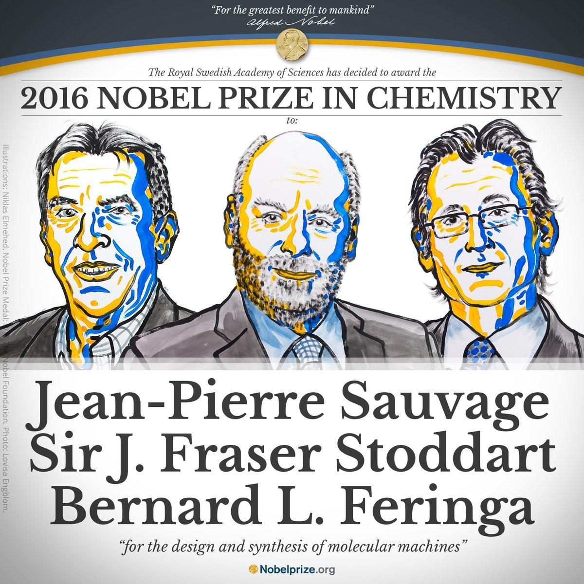 Объявлены лауреаты Нобелевской премии по химии - 1