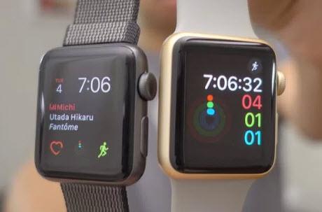Умные часы Apple Watch Series 1 и Series 2 обладают практически одинаковой производительностью