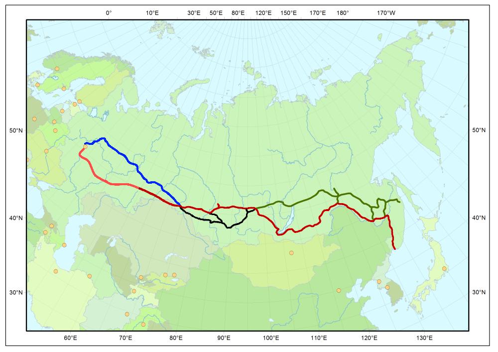 Великому Сибирскому Пути — 100 лет (обновлено) - 2
