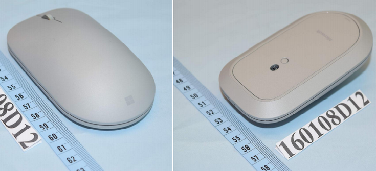 Клавиатура и мышь Microsoft Surface прошли сертификацию FCC