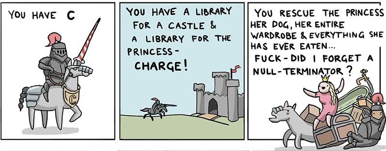 Как спасти принцессу, используя 8(+40) языков программирования, в пятницу - 2