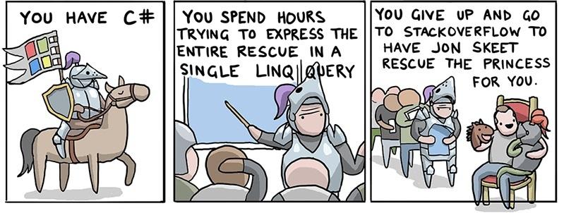 Как спасти принцессу, используя 8(+40) языков программирования, в пятницу - 3