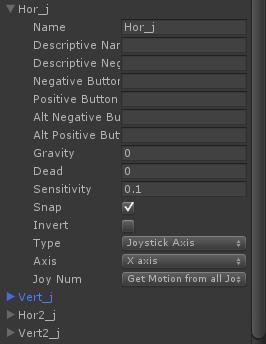 Разработка игры в Unity3D под геймпад - 6