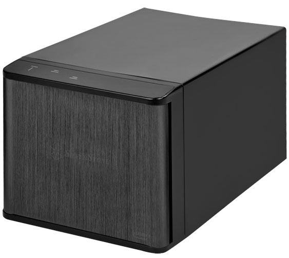 Цена SilverStone DS231U-С примерно равна 124 евро