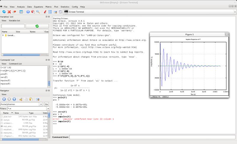 Высшая математика командной строки — GNU Octave - 1