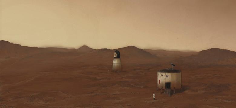 Что будет, если человек умрет на Марсе? - 1