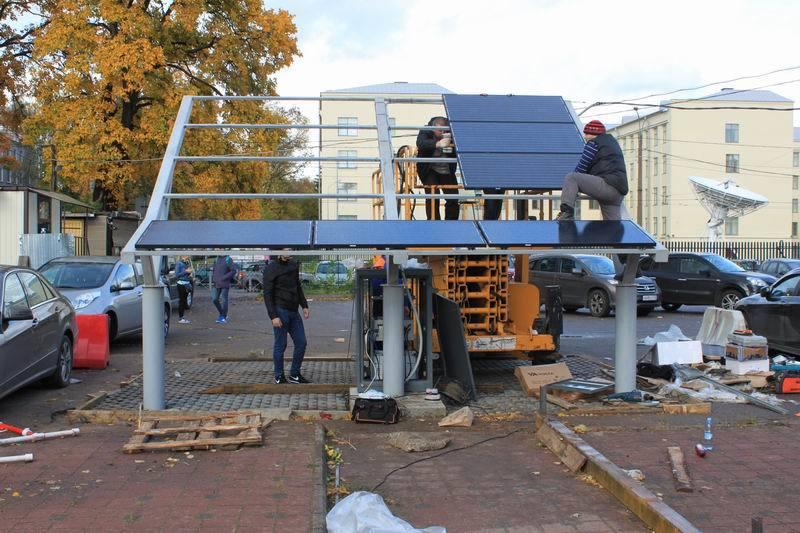 Как мы построили первую в России заправку электромобилей от солнечной энергии - 8