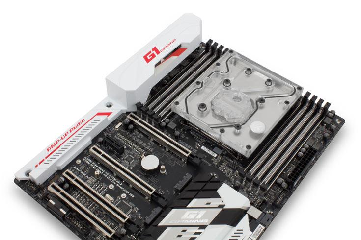Водоблоки EK-FB GA X99 предназначены для системных плат Gigabyte GA-X99 - 2