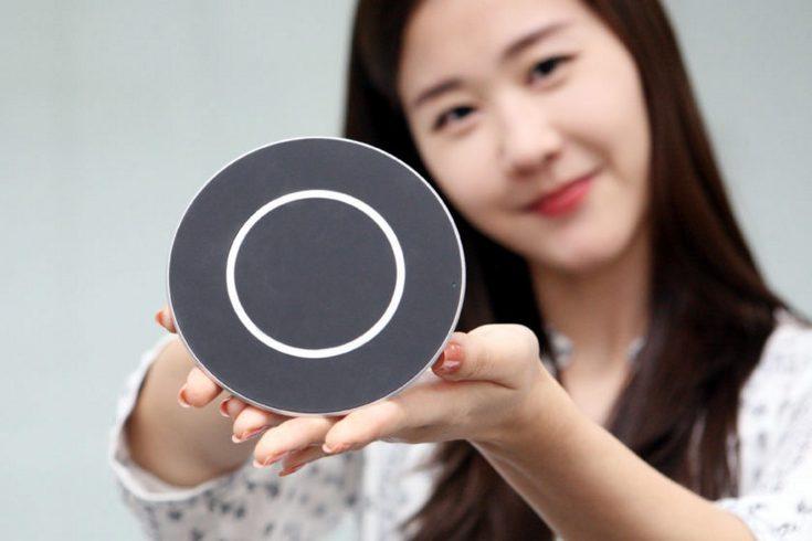 Новая беспроводная ЗУ компании LG поддерживает быструю зарядку