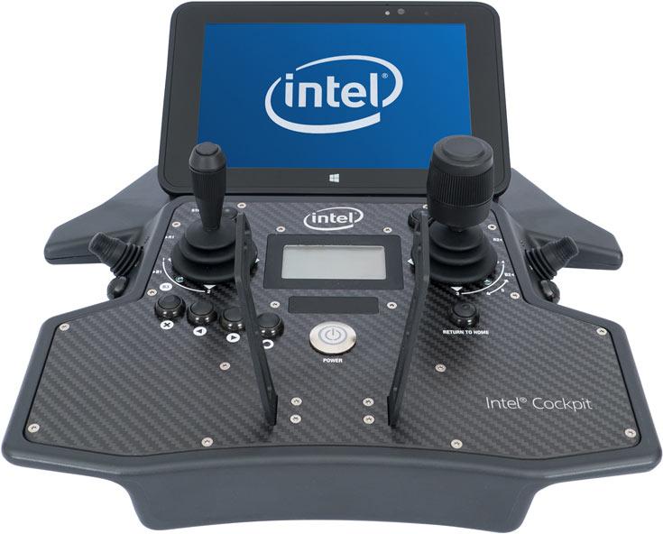 Представлен дрон Intel Falcon 8+