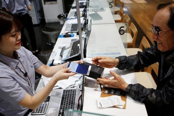 В Южной Корее покупатели, возвращающие Galaxy Note7, получают скидку при покупке других смартфонов Samsung