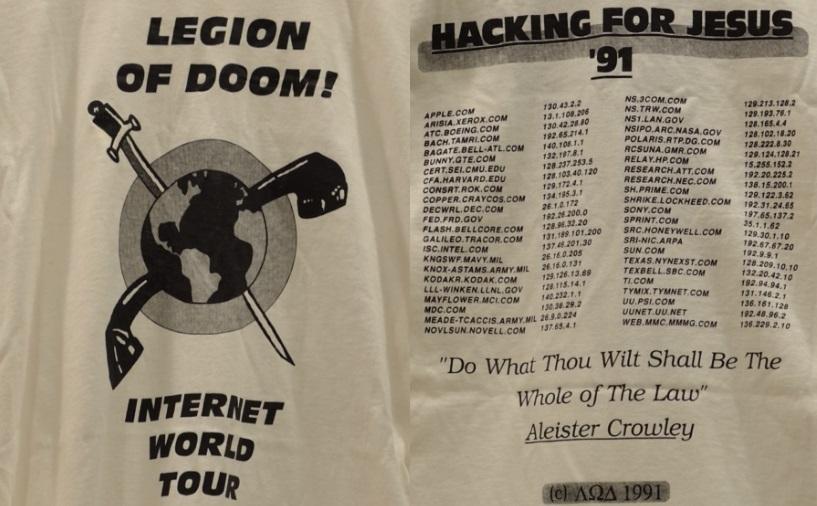 Великая война хакеров 1990 года (Great Hacker War) - 2