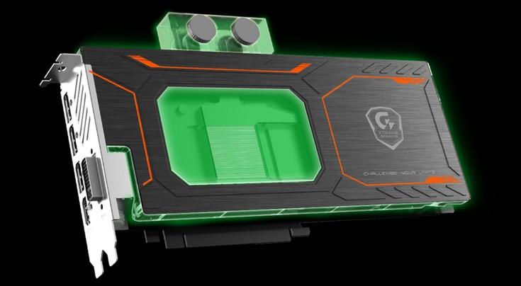 Видеокарта Gigabyte GeForce GTX 1080 Xtreme Gaming WaterForce WB 8G оснащена водоблоком