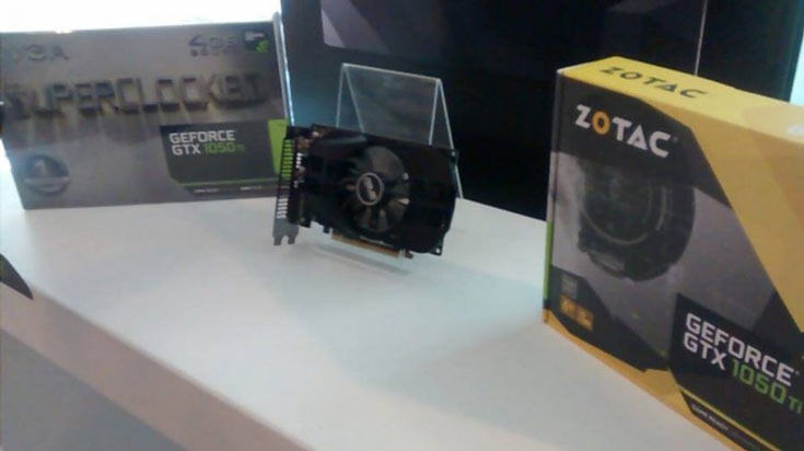 3D-карта Asus GeForce GTX 1050 Ti Mini имеет короткую печатную плату