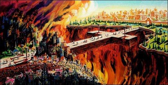 Ученые определили температуру ада