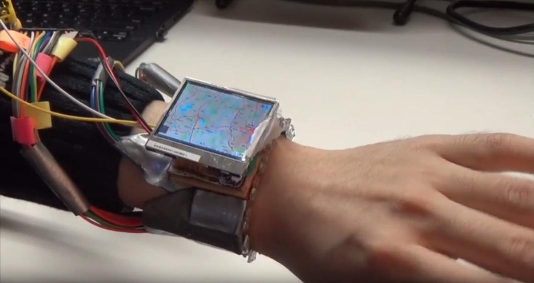 WristWhirl: прототип умных часов, управляемых жестами - 2