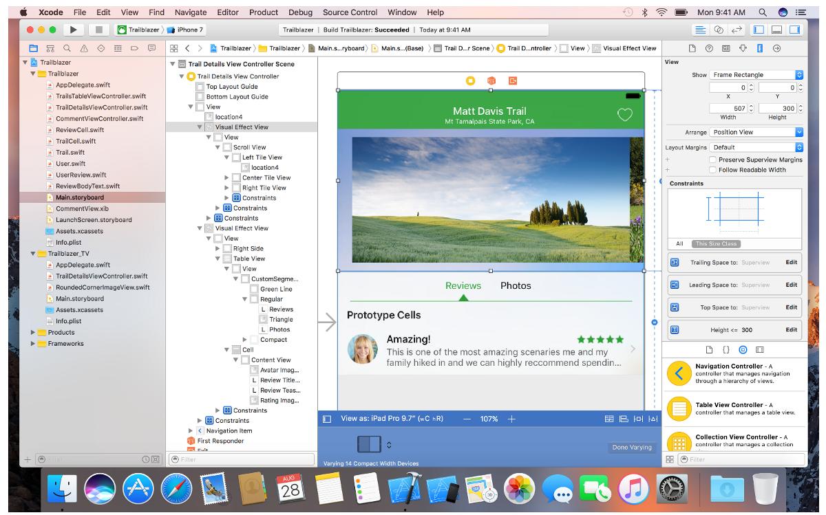 Xcode: наверное, лучший способ работы со сторибордами - 1