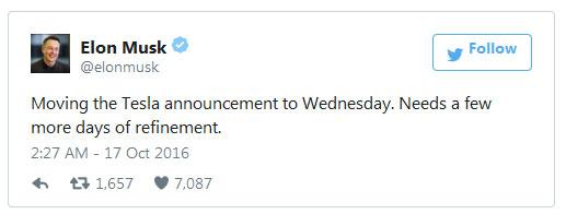 На следующей неделе пройдет мероприятие, посвященное интеграции продукции SolarCity и Tesla