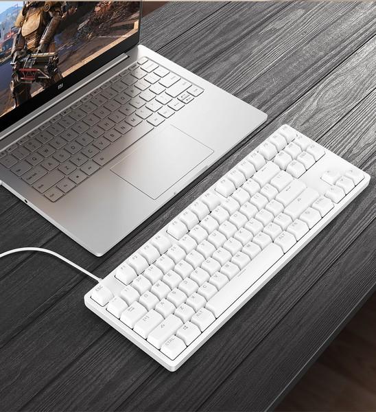 Xiaomi представила механическую клавиатуру в алюминиевом корпусе
