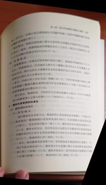 Устранение перспективных искажений и разгибание кривых строк на фотографиях книжных разворотов - 10