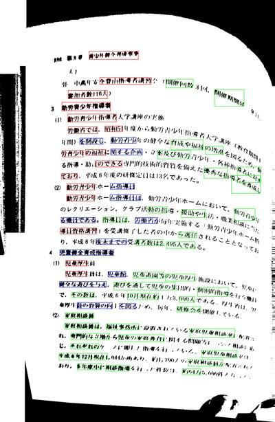 Устранение перспективных искажений и разгибание кривых строк на фотографиях книжных разворотов - 11