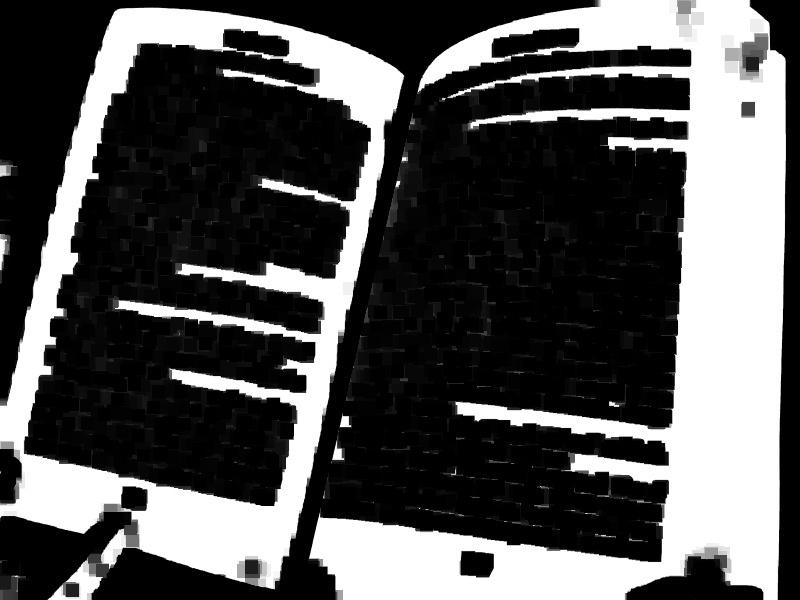 Устранение перспективных искажений и разгибание кривых строк на фотографиях книжных разворотов - 4