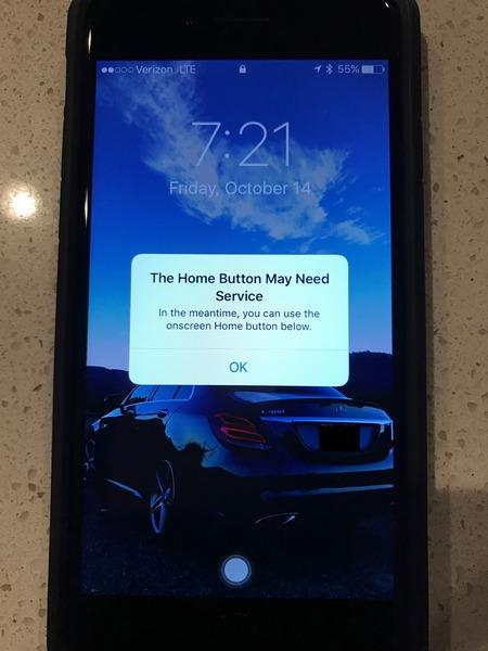Смартфоны Apple умеют программно дублировать кнопку Home