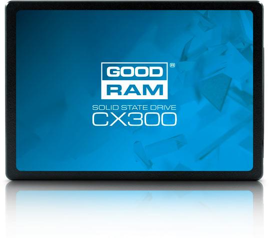 Накопители Goodram CX300 типоразмера 2,5 дюйма имеет толщину 7 мм