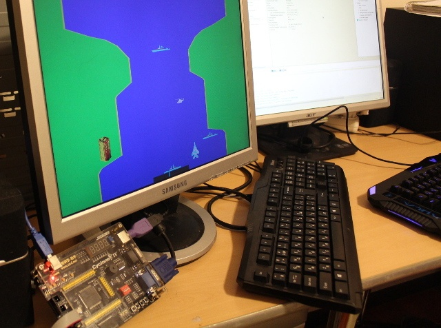 River Raid на FPGA - 2