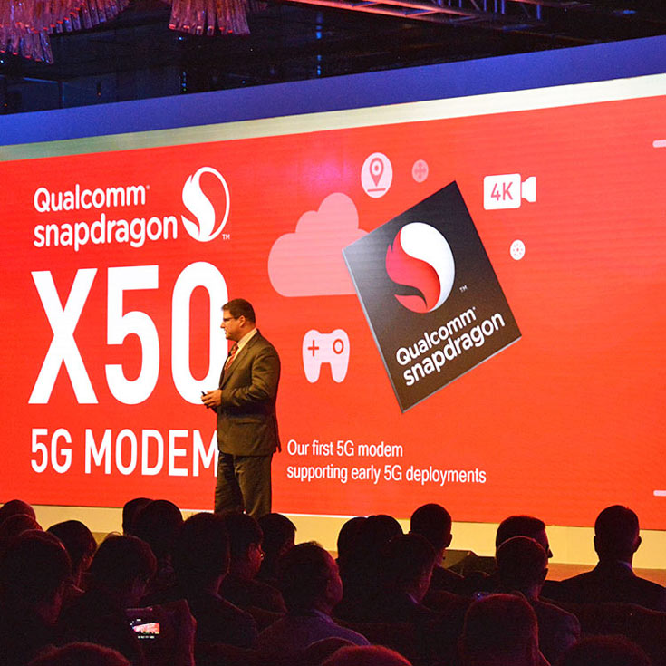 Анонсирован модем 5G Qualcomm Snapdragon X50