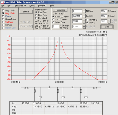 Программирование&Музыка: Частотный фильтр Баттервота. Часть 3 - 24