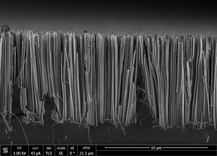 По оптическим свойствам кремниевые нанонити, изготовленные по новой методике, превосходят обычные нанонити