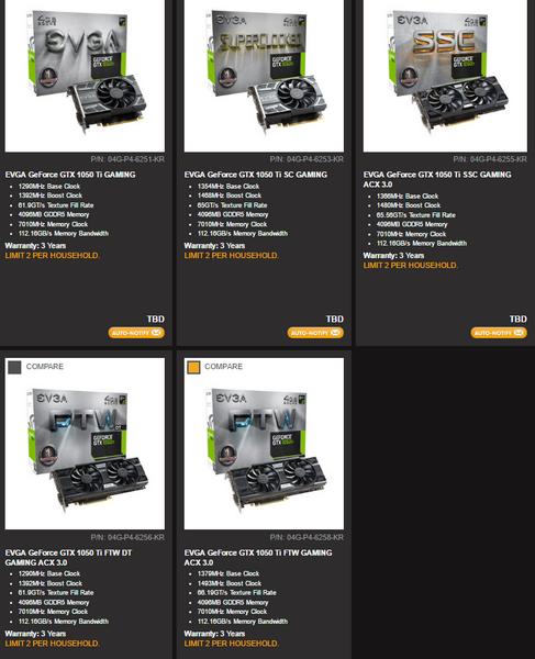 Видеокарты GeForce GTX 1050 и GTX 1050 Ti в исполнении EVGA могут быть очень длинными для этого сегмента - 1