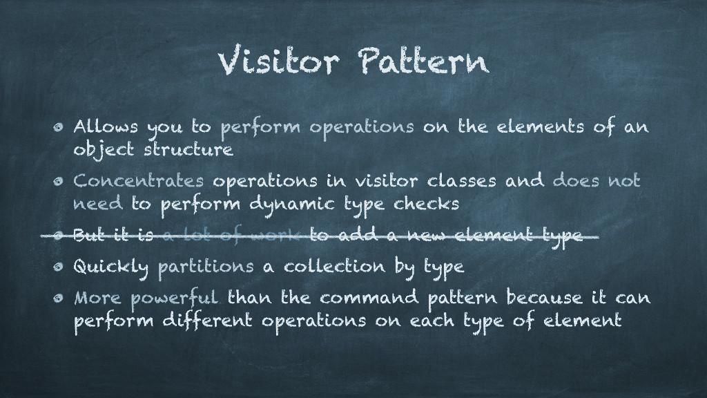 Acyclic Visitor - 1