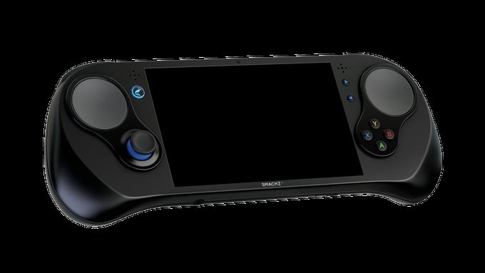 Игровой ПК в корпусе портативной консоли Smach Z успешной профинансирован на Kickstarter