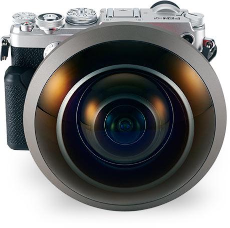 Объективы Entaniya Fisheye 250 MFT предназначены для камер системы Micro Four Thirds