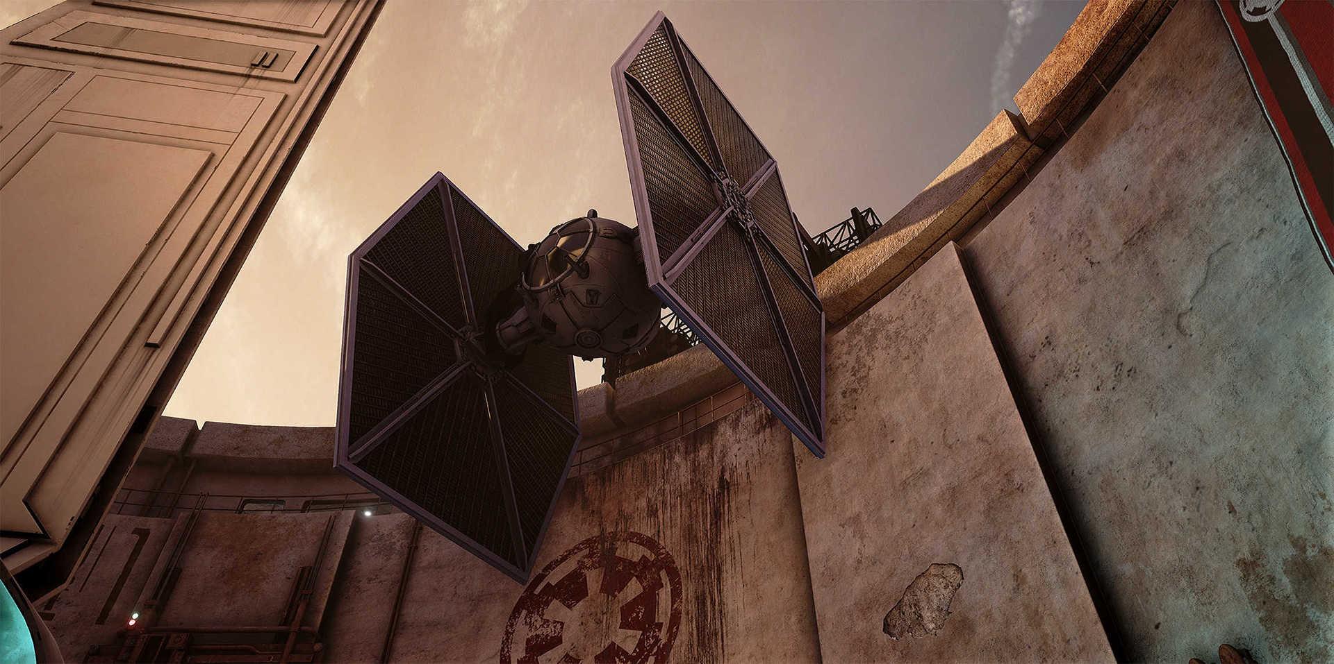 Создание сцены из Star Wars в Unreal Engine 4 - 10