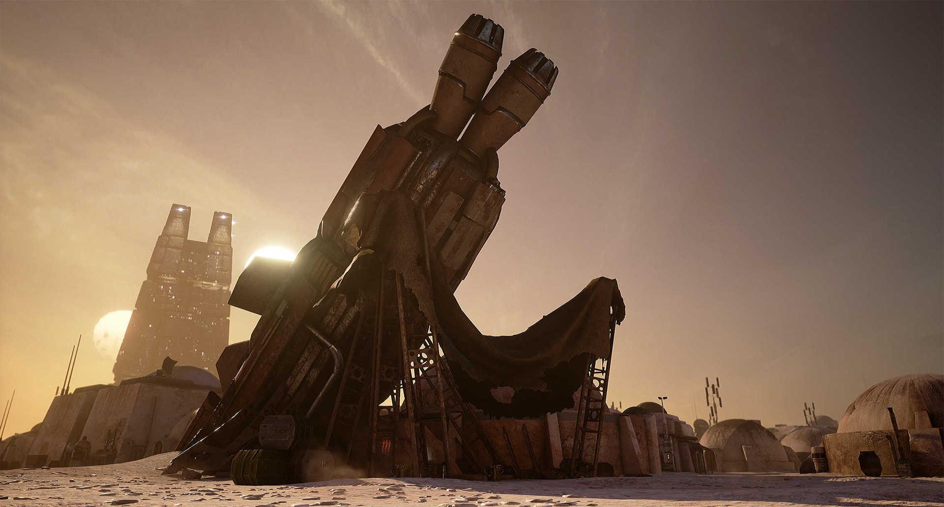 Создание сцены из Star Wars в Unreal Engine 4 - 11
