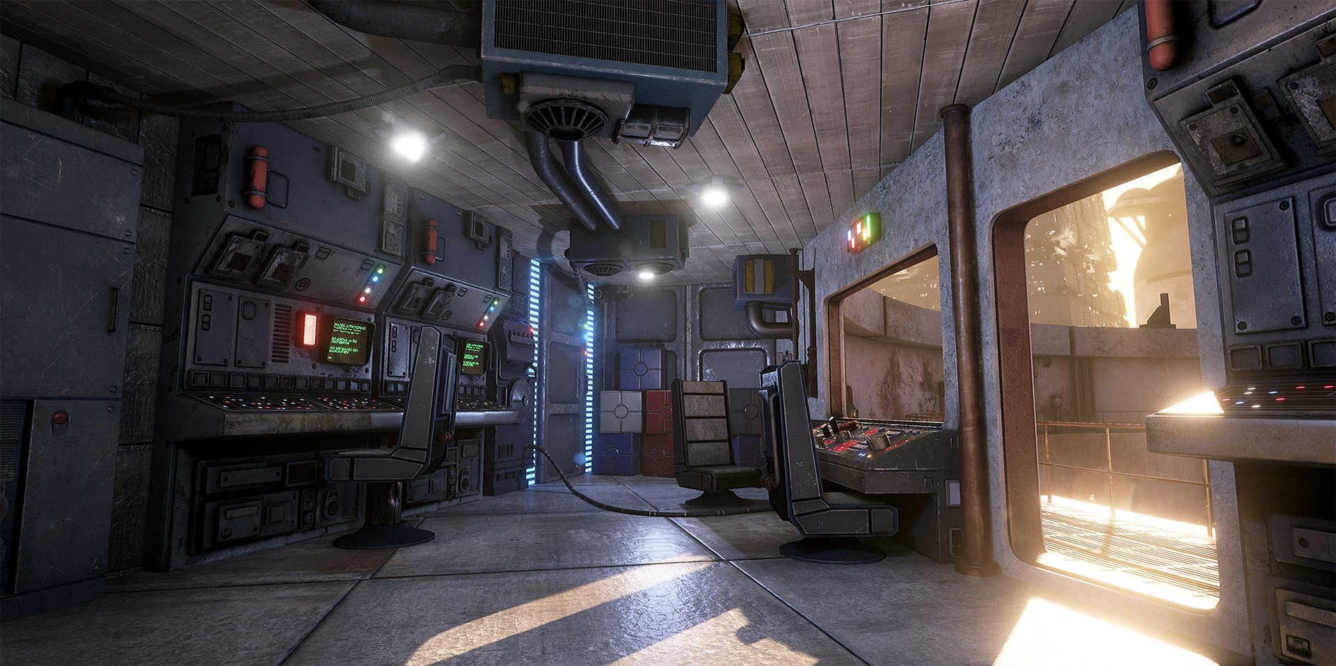Создание сцены из Star Wars в Unreal Engine 4 - 12