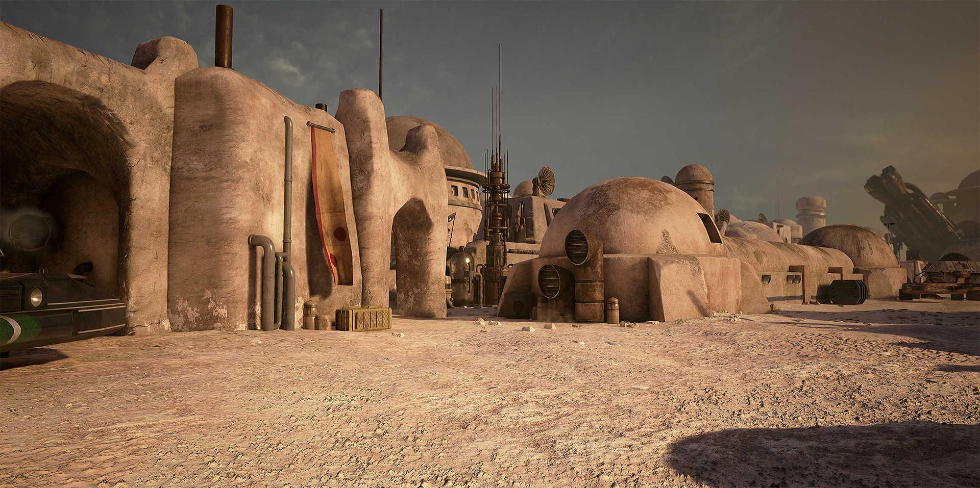 Создание сцены из Star Wars в Unreal Engine 4 - 13